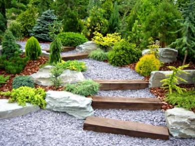 Building A Rock Garden Like This One.